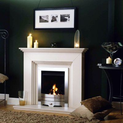 Washington Cream Marfil Fireplace