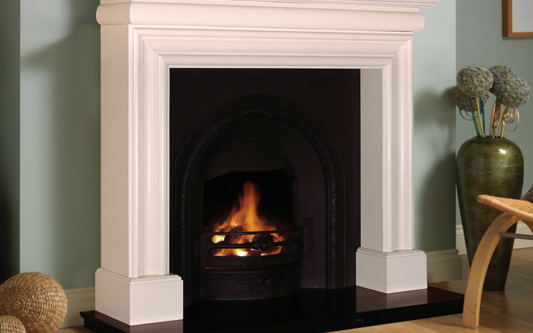 Wexford White Marble Fireplace