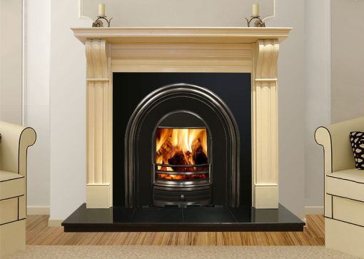 Dublin Corbel Marble Fireplace Cream Marfil