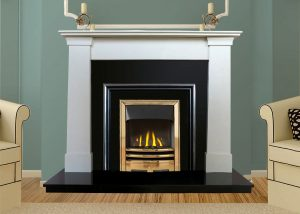 Oslo Marble Fireplace